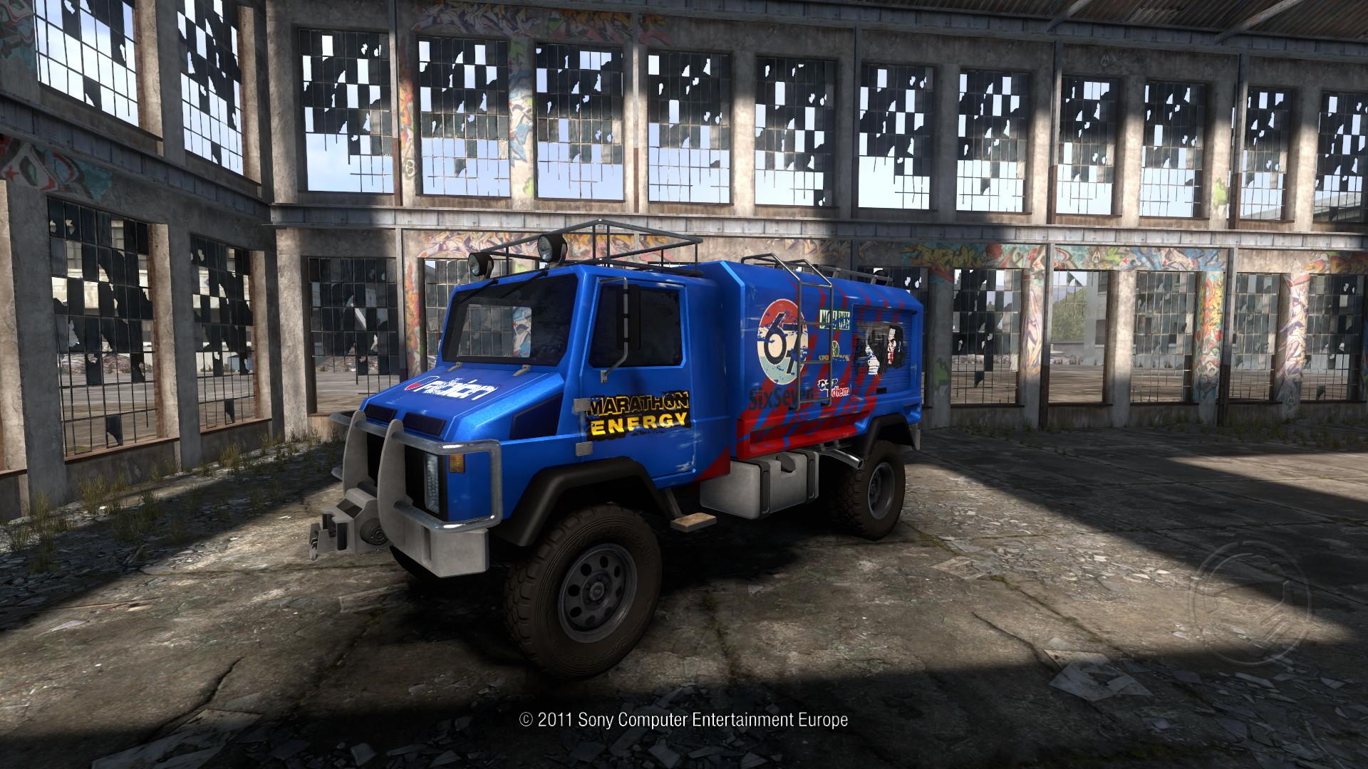 Molotov Uradna (In-game screenshot)