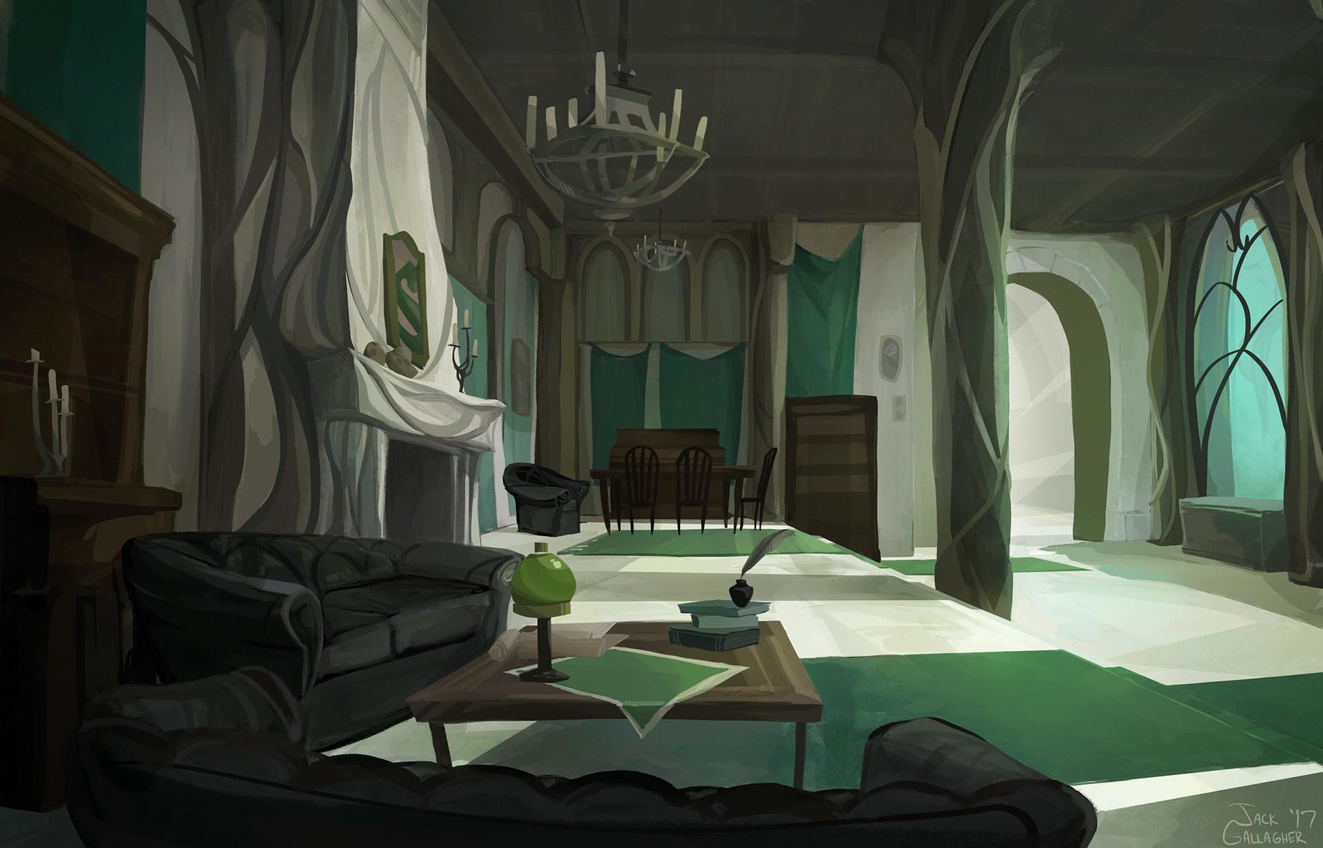 Dorm Common Room