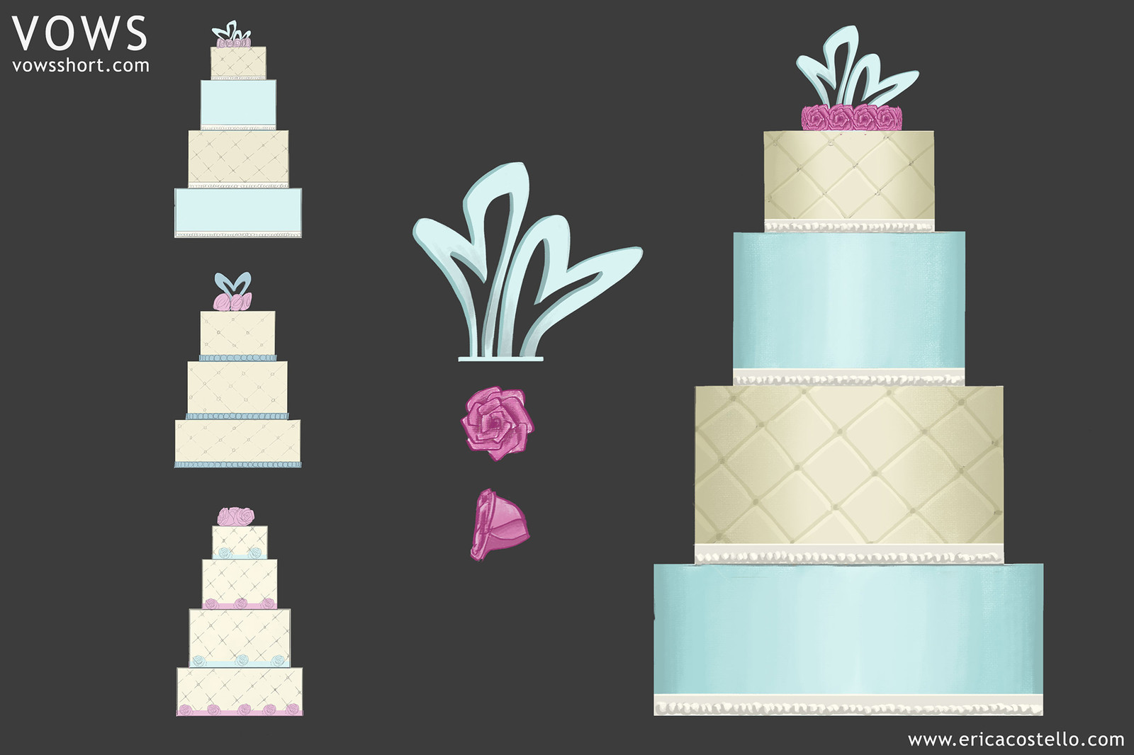 Vows - Wedding Cake Design