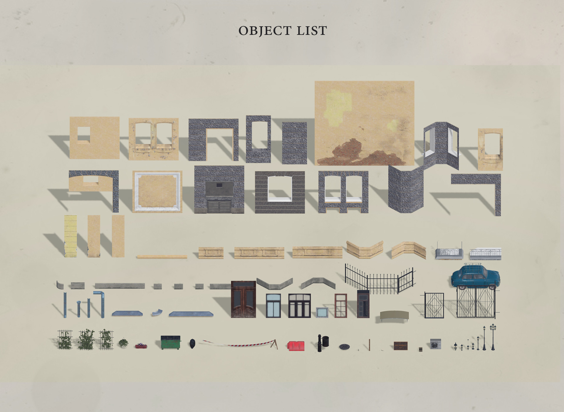 Toivo glumov object list