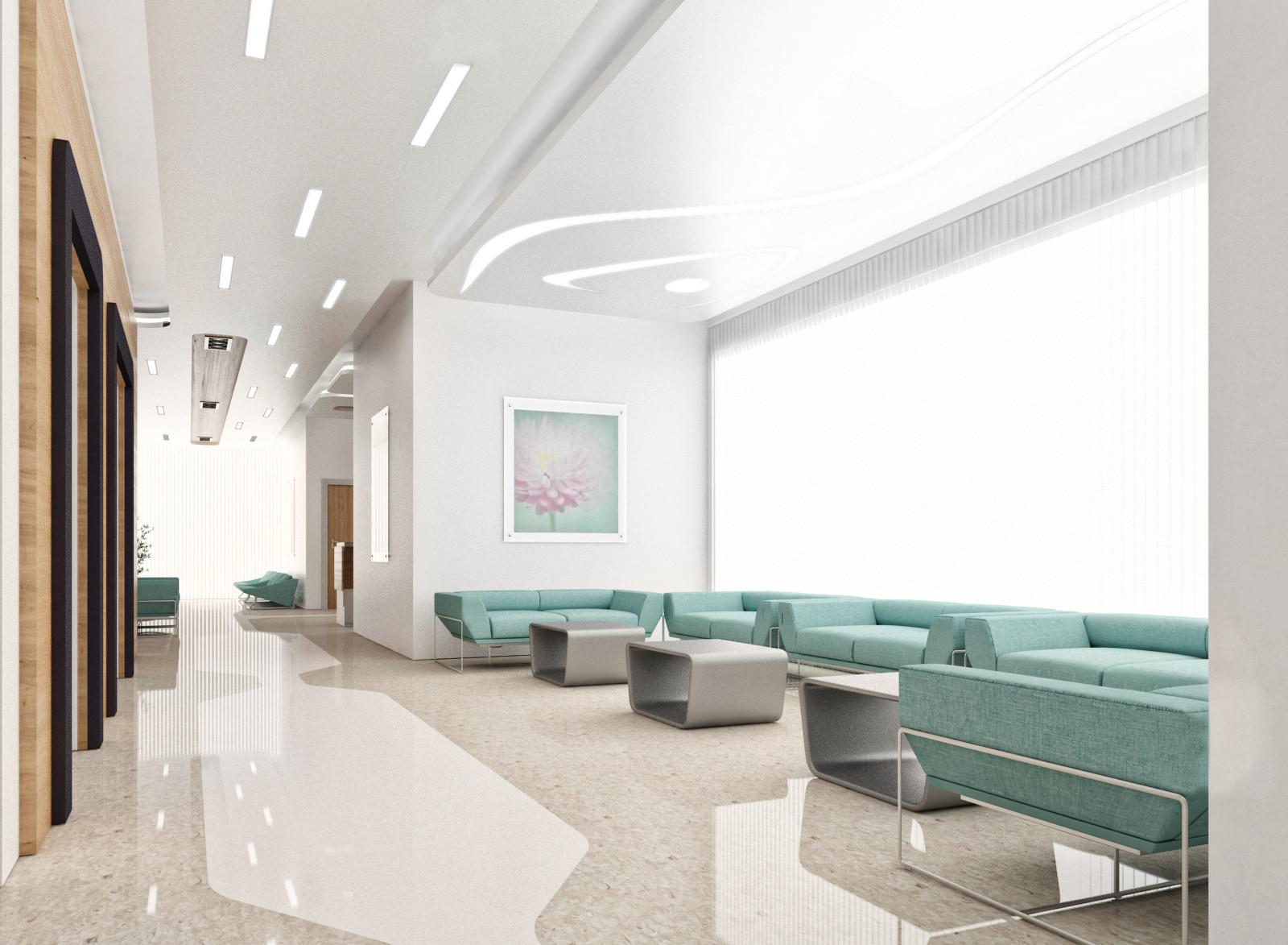 Mustafa arifoglu patient room corridor 1