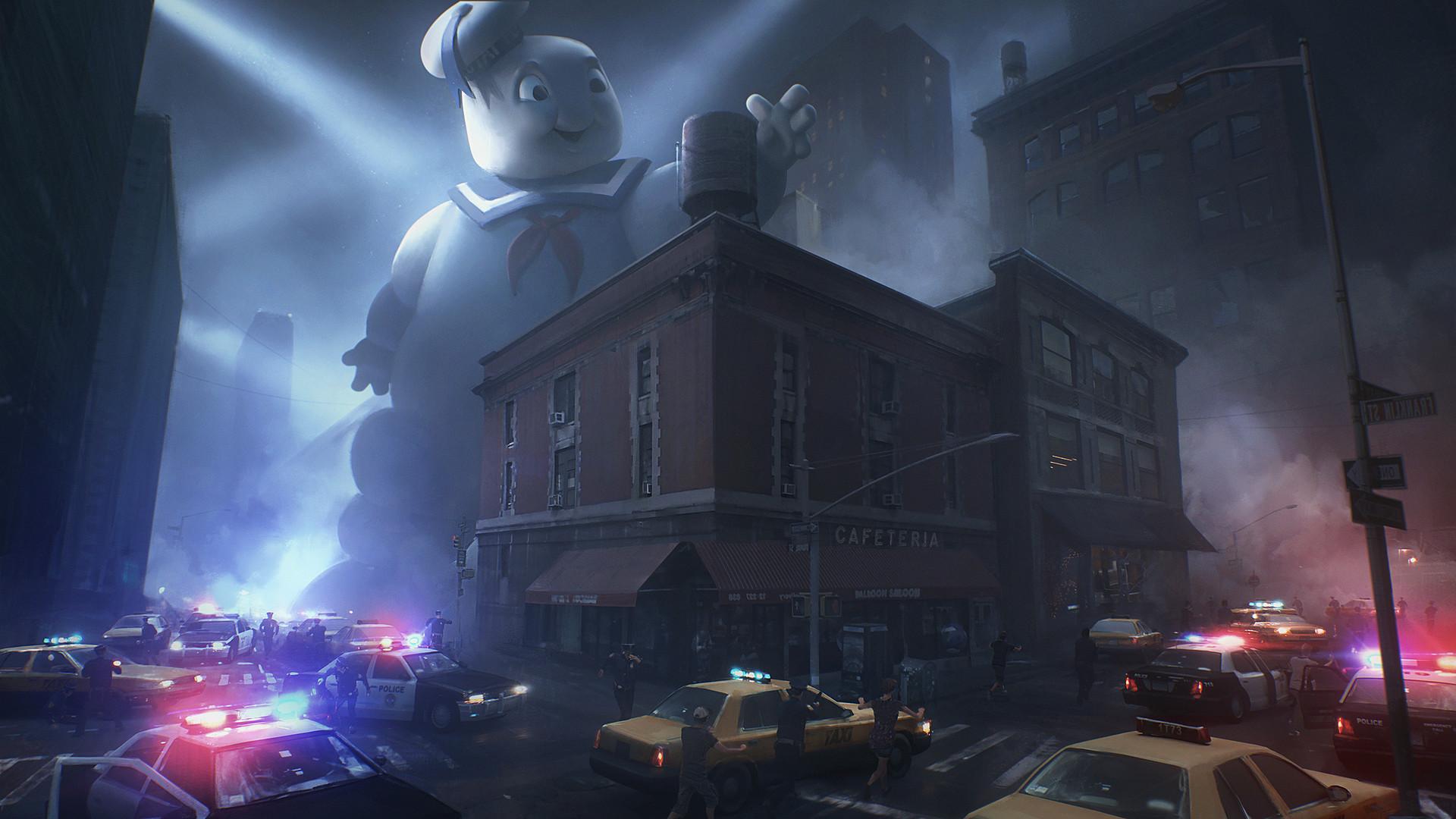 Nikolay Razuev Ghostbusters Fun Art
