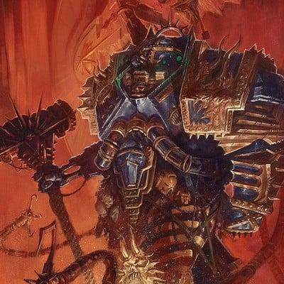 Thomas elliott iron warrior painting thomas elliott