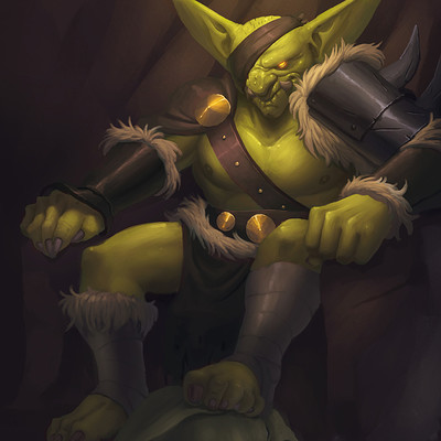Ricardo coelho goblin king paint 02