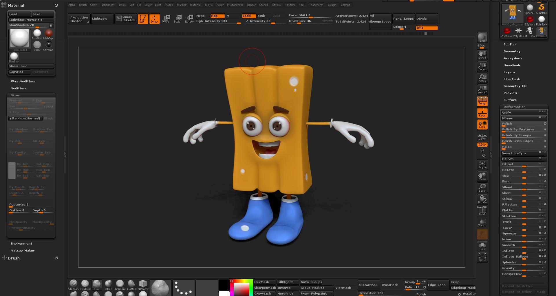 ArtStation - Random character creation, Mickelly Edna