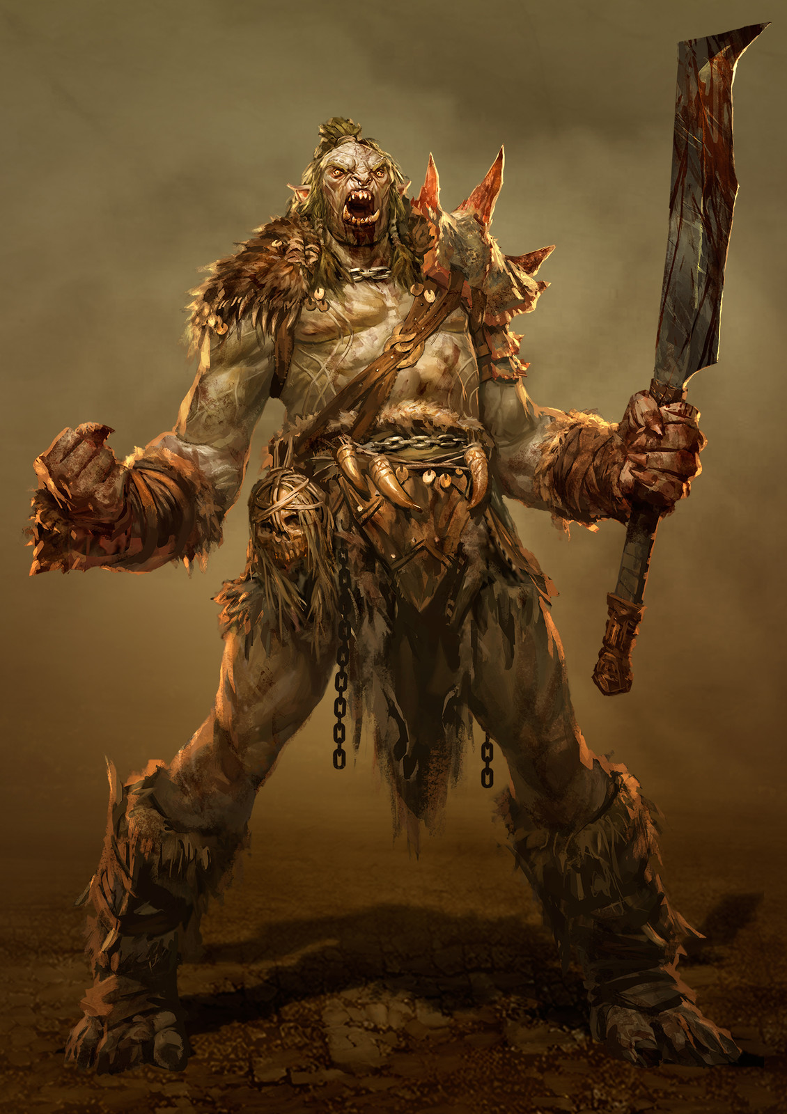 Orc Warleader