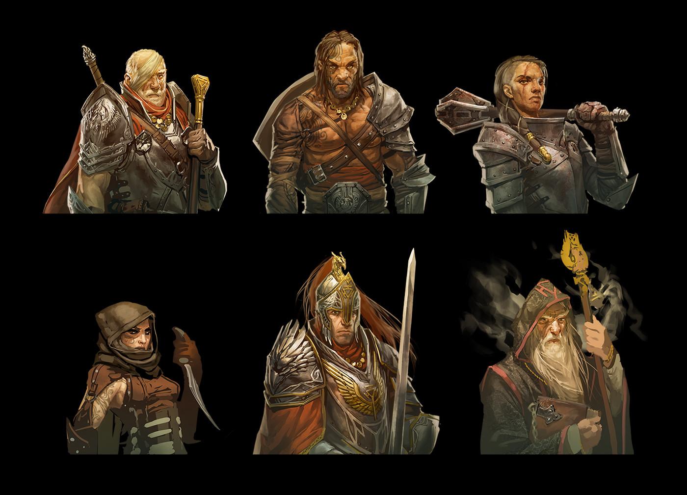 Commander concepts