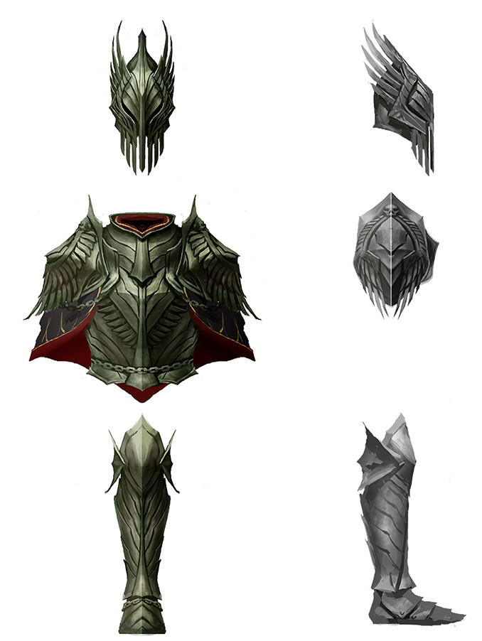Denman rooke armorconcepts darksteel