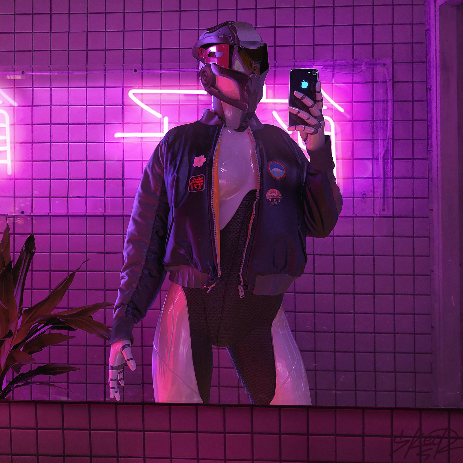 Tony skeor selfierobot