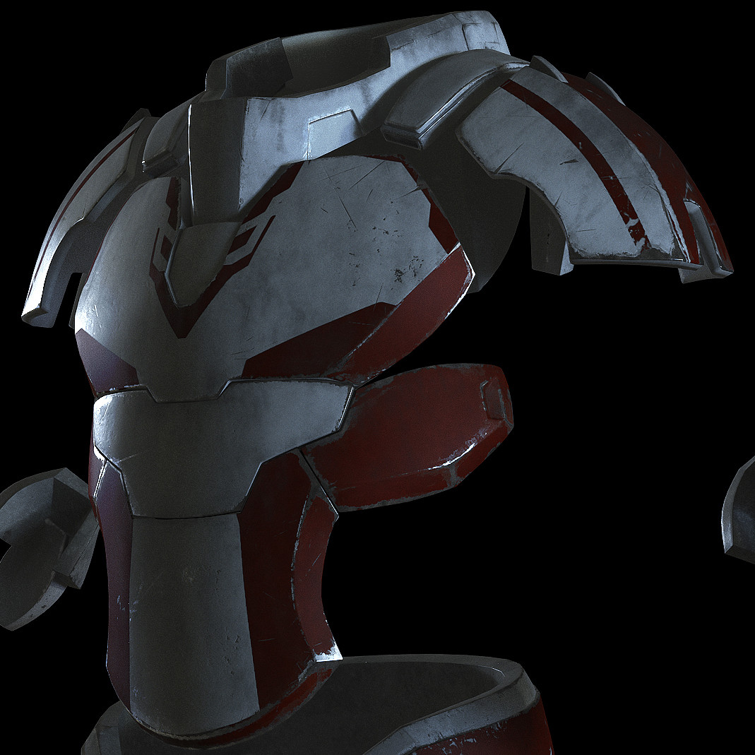 Texturing and creating materials for the spaceSuit