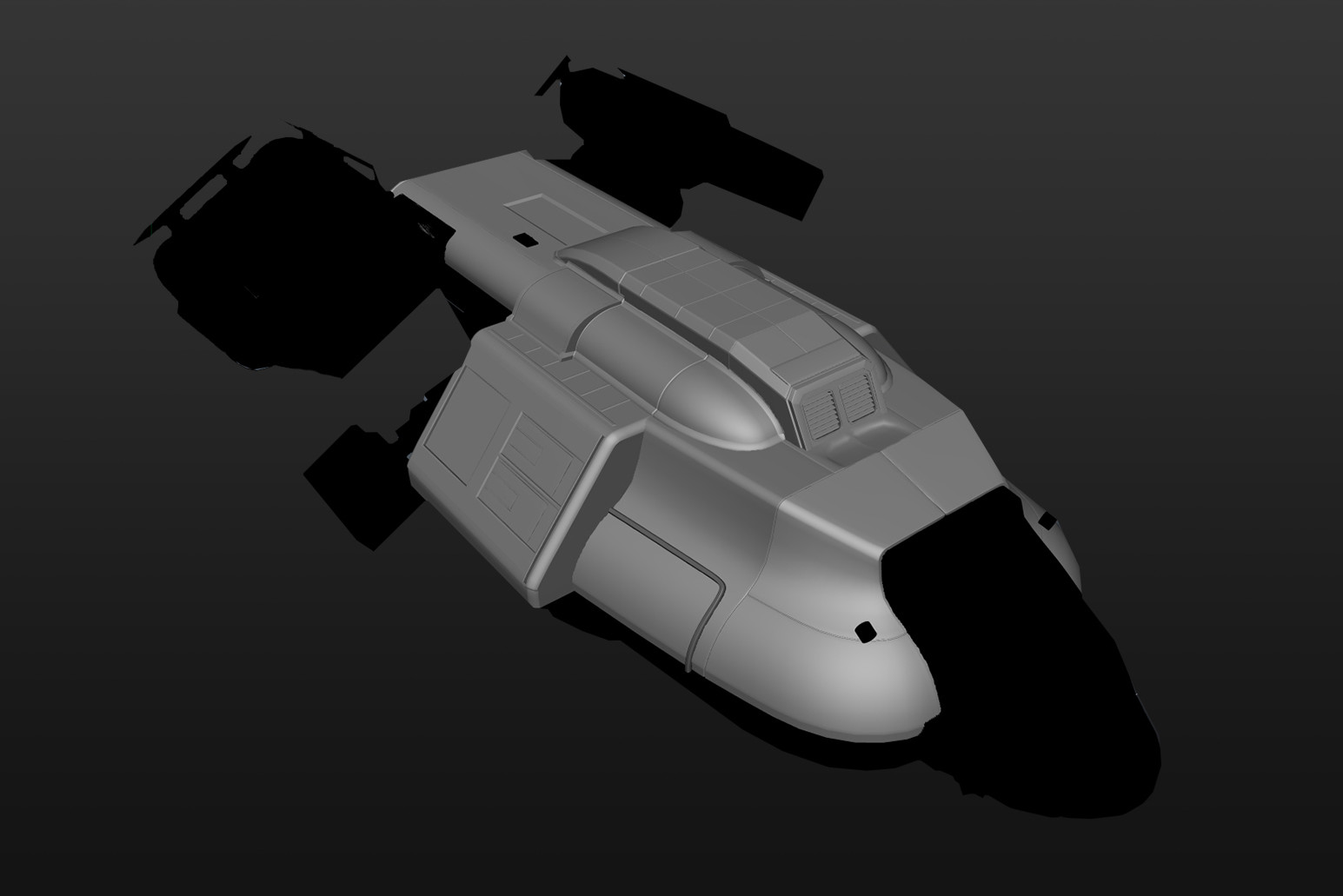 Modelling surfaces of the ship