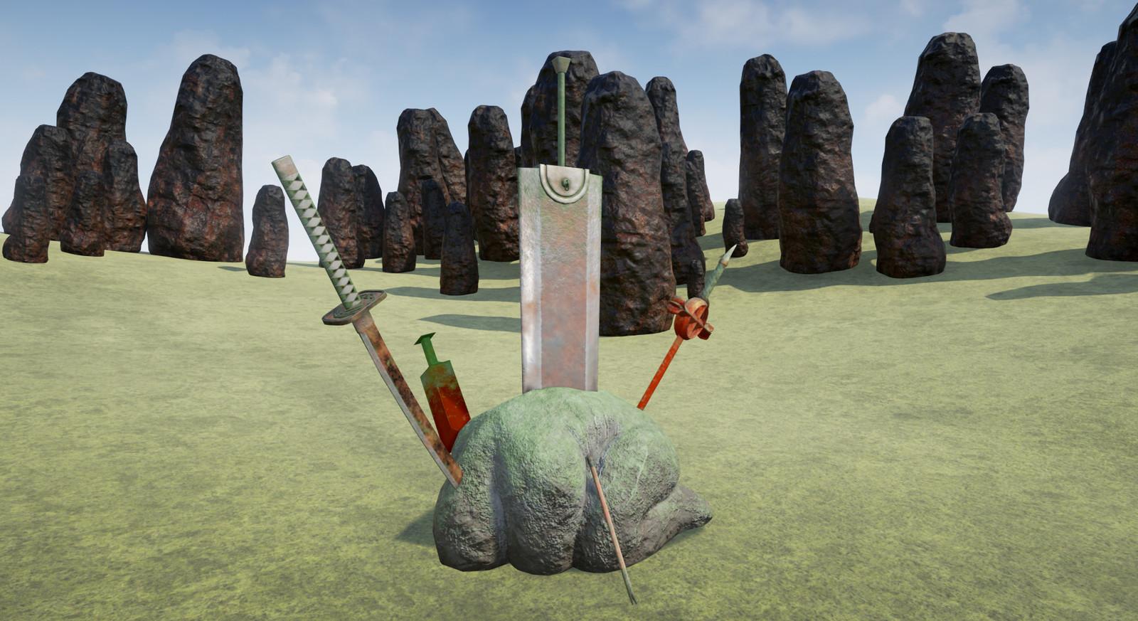 Penitent Rock concept project