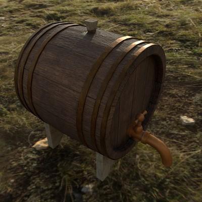 Duncan ecclestone wargaming net arttest barrel 002