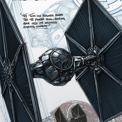 Shane molina tiefighter crosssection