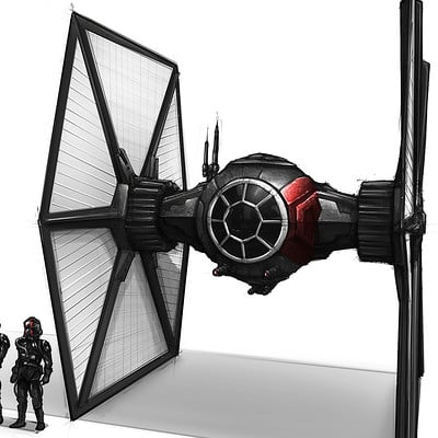 Shane molina special forces tie fighter