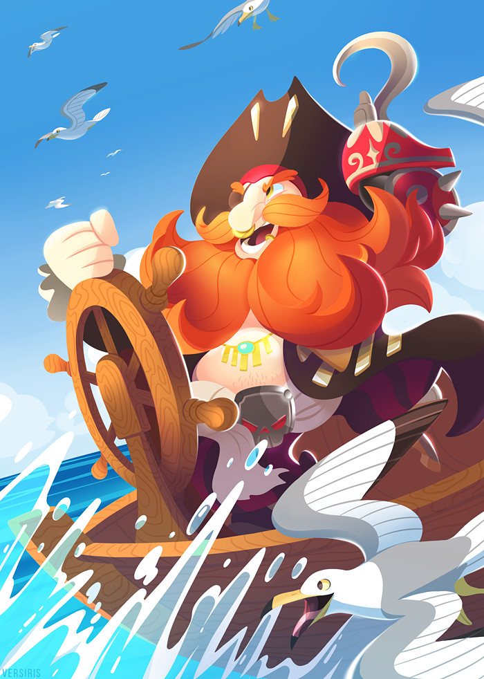 Torbjorn Ready to Sail