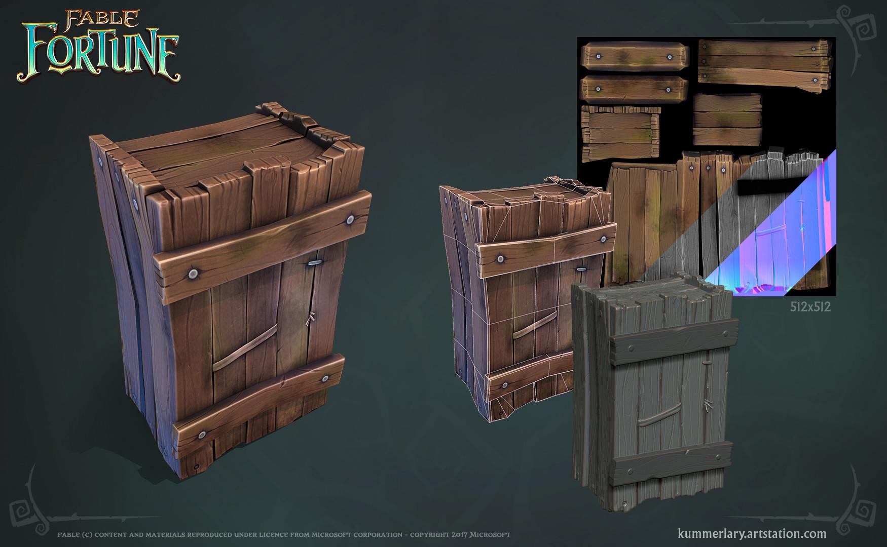 Lary kummer fablefortune crate