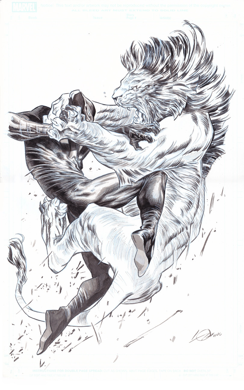 The black panther wakandas king vs the king of the jungle