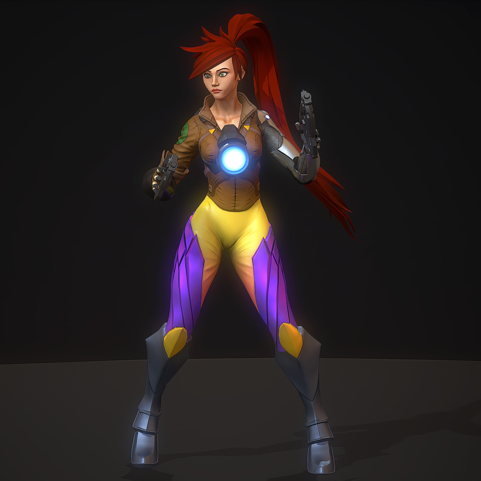 Overwatch Mash-Up Tracer