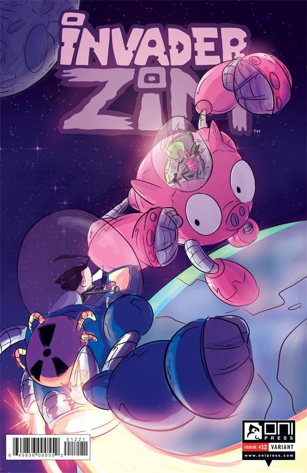 Official Invader Zim Variant Cover for Oni Press