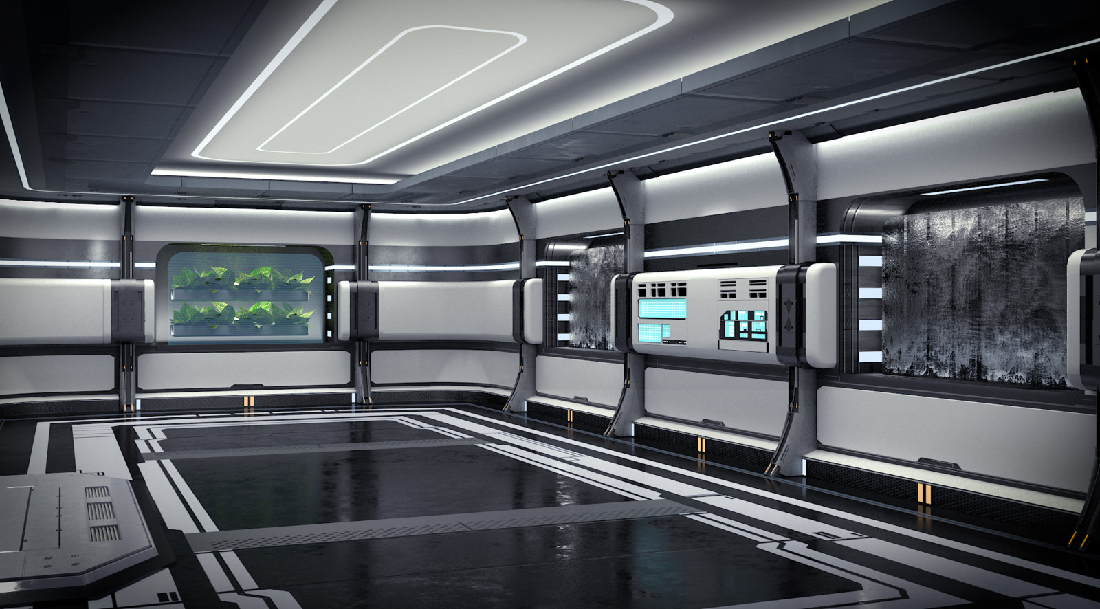 Star Citizen Concept Room