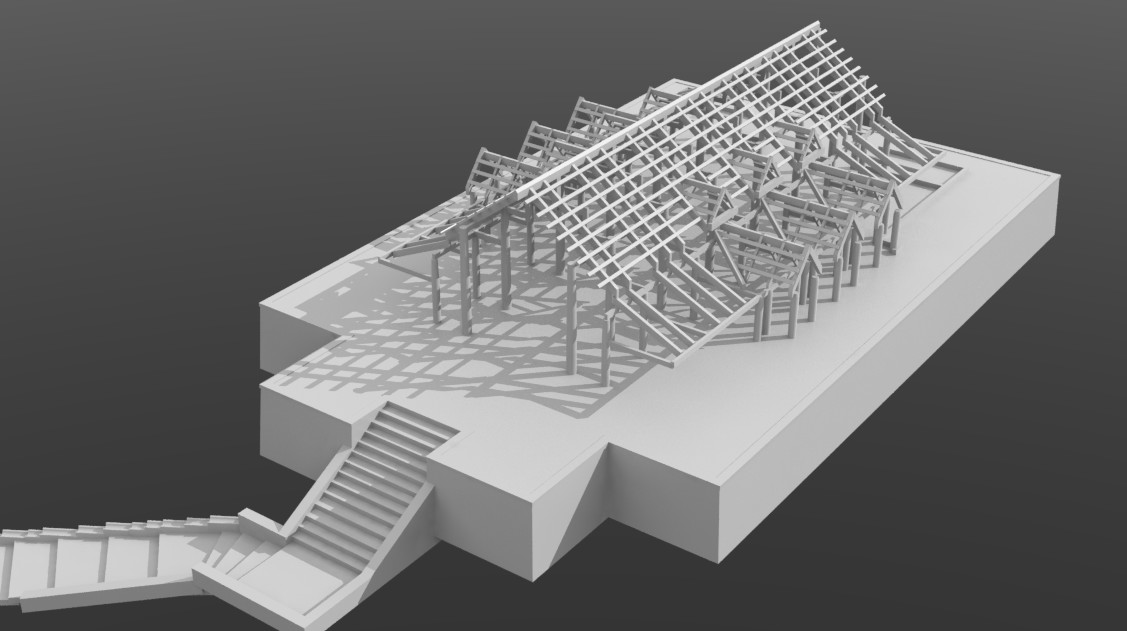 Roof structure 01