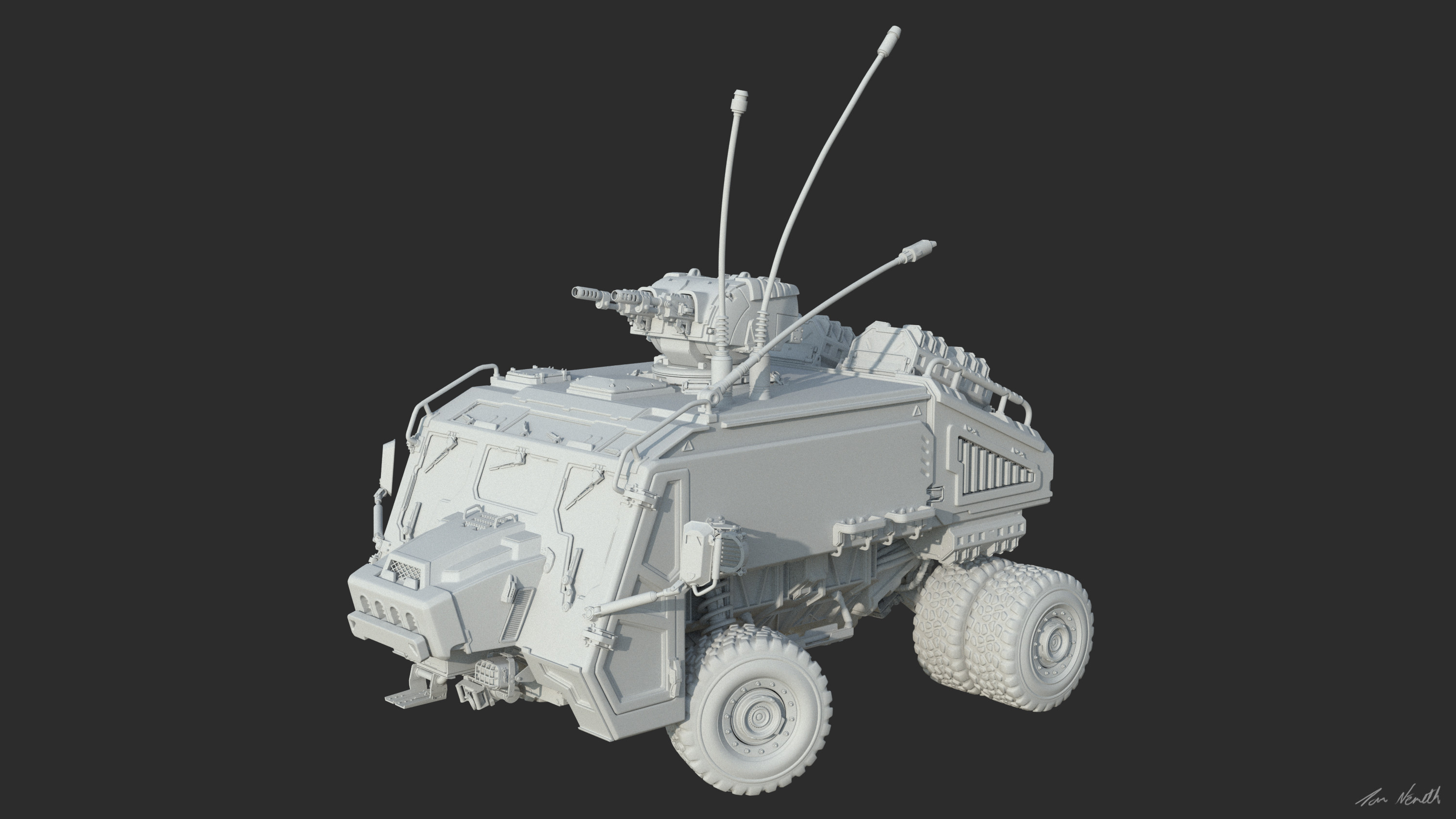 Rover wip - concept by Toph Gorham