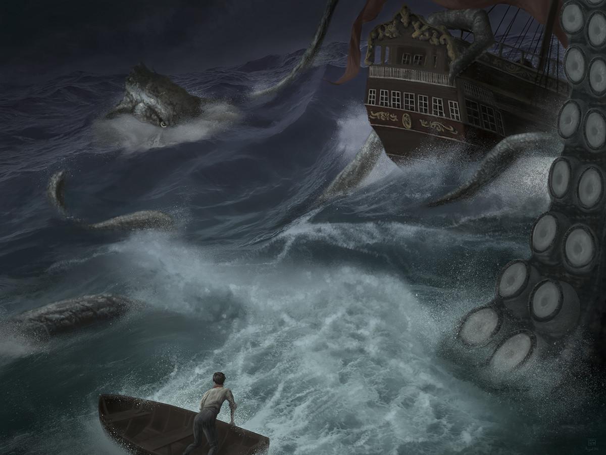 Troy liew krakenpaintingv2web