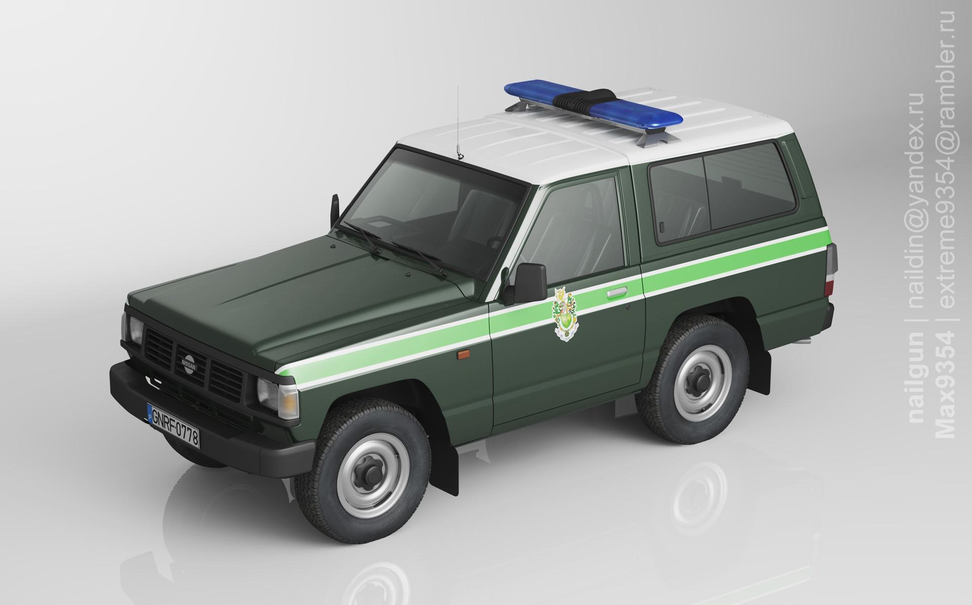 Nail khusnutdinov pwc 054 000 nissan patrol miniature