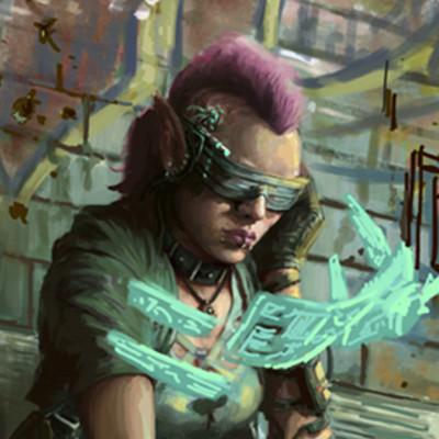 Joe shawcross cyberpunkas