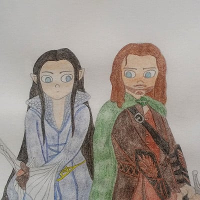 Audrey schindler arwen et aragorn