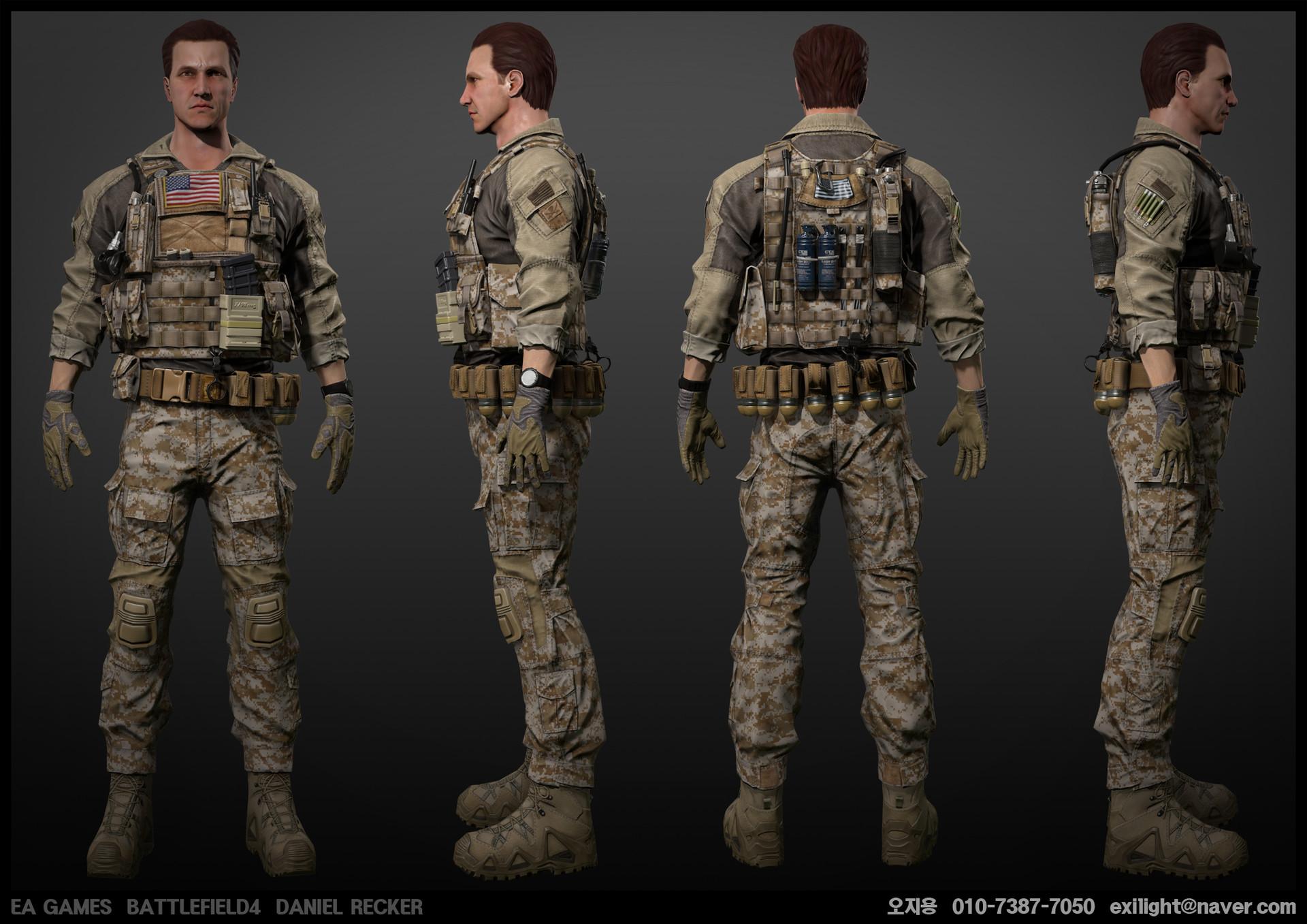 Jiyong Oh Copy Battlefield4 Daniel Recker