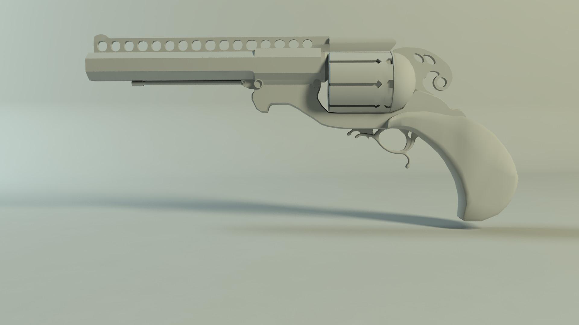 Mugisha monga pistol lp render