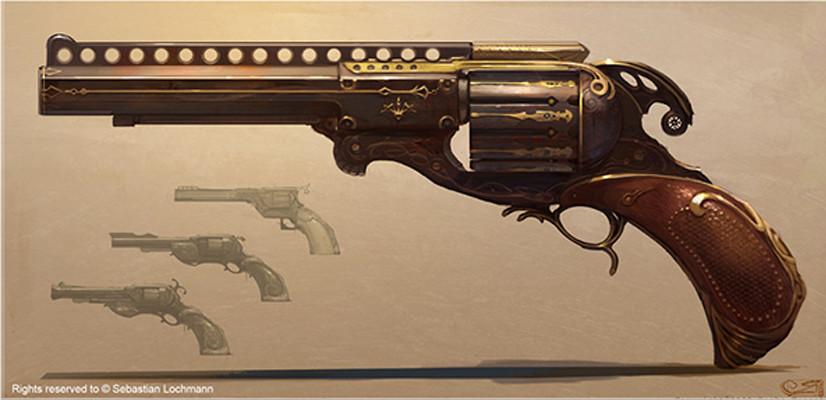 Mugisha monga pistol concept
