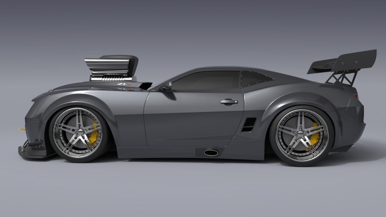 Cristian Dumitriu Camaro Zl1 Turbo Dreamworks