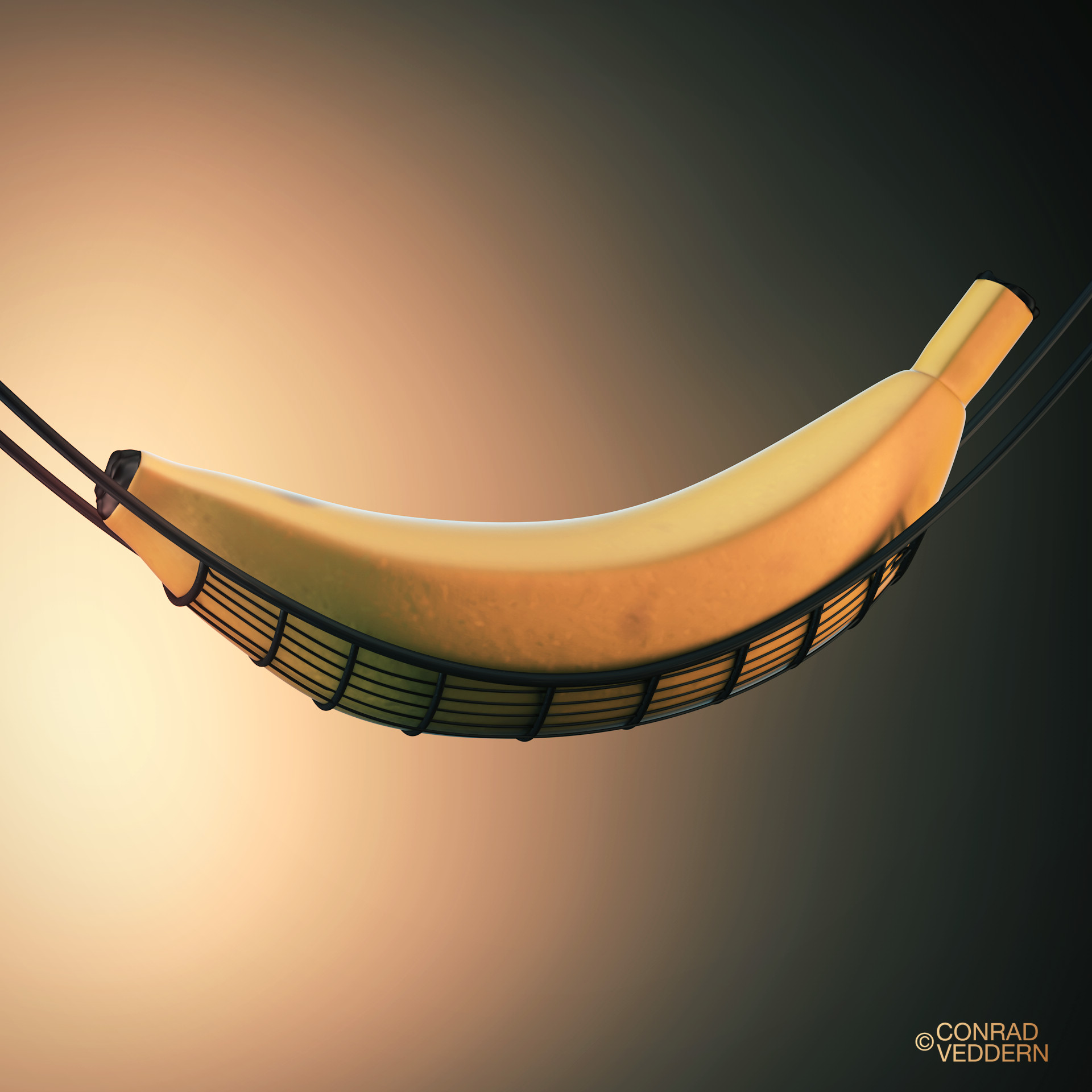 213  banana hammock    punny humour made in c4d  artstation    213  banana hammock  conrad veddern  rh   artstation