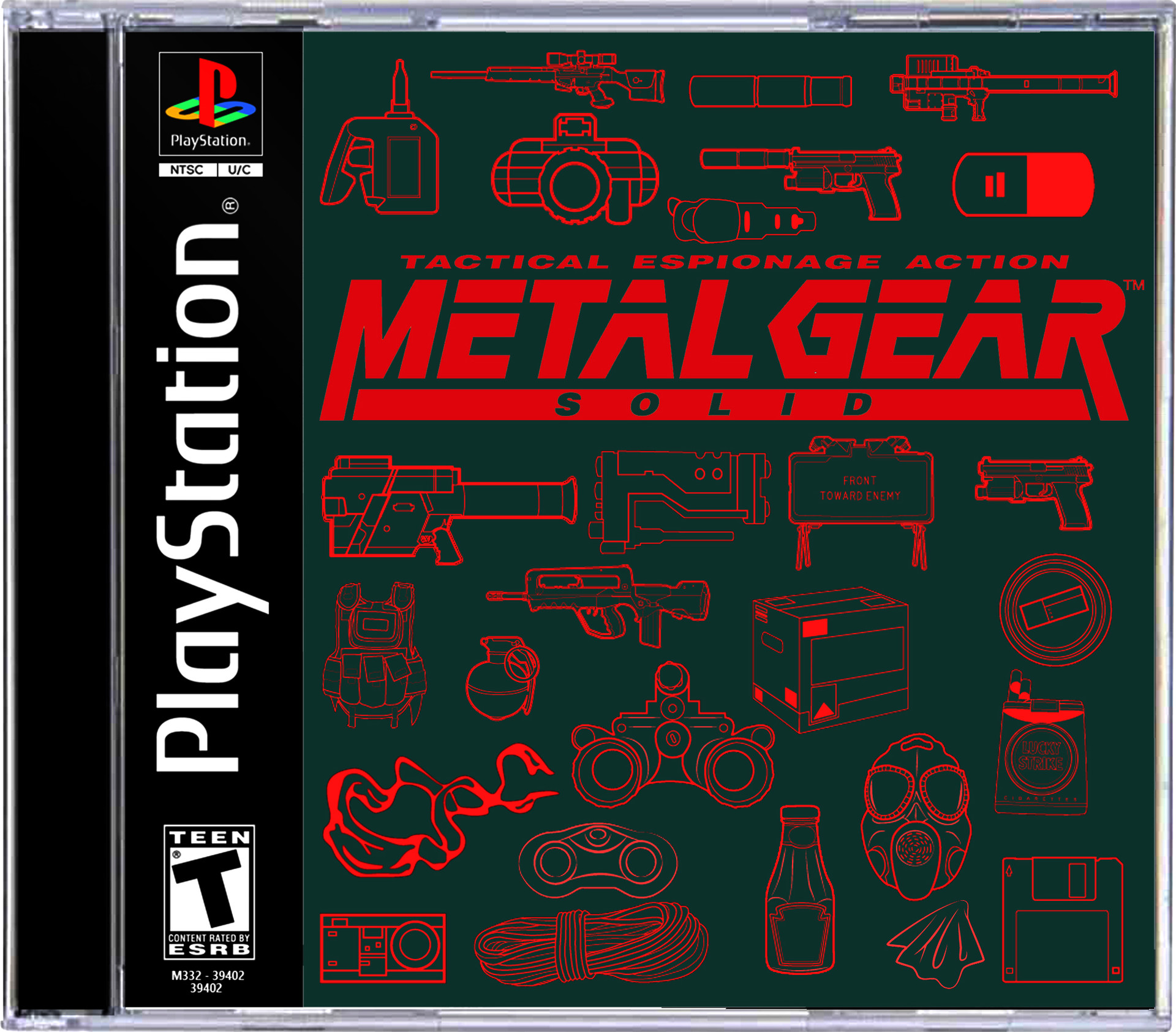 Ben nicholas bennicholas ps1 gamecover metalgearsolid2