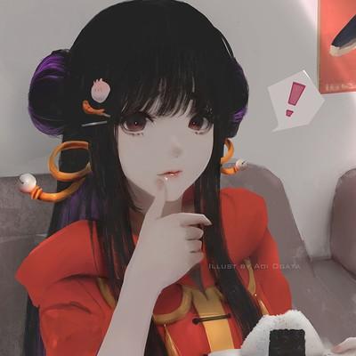Aoi ogata misohungry