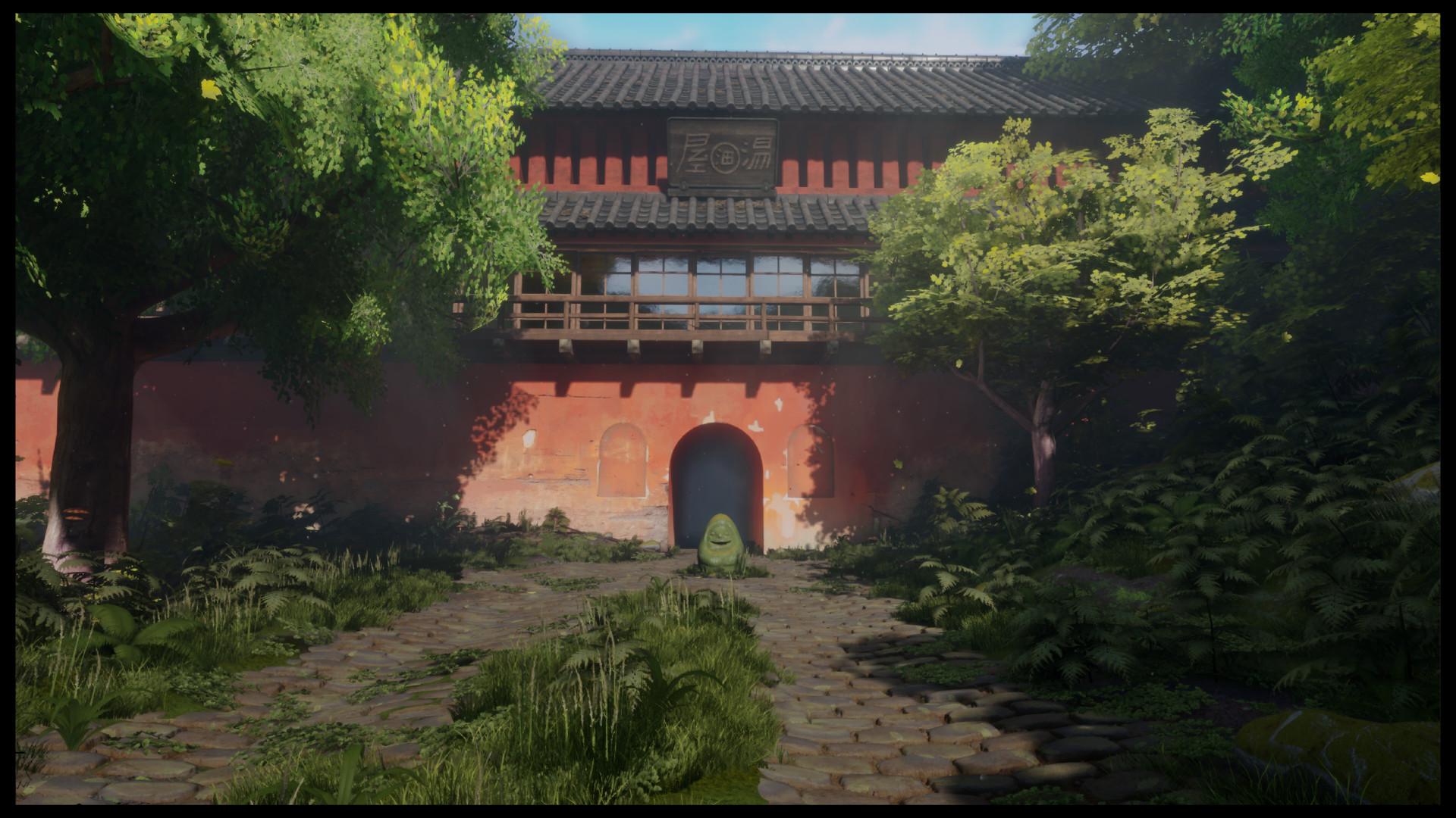 Artstation Ue4 Spirited Away Gate Louis Hayes Greenwood