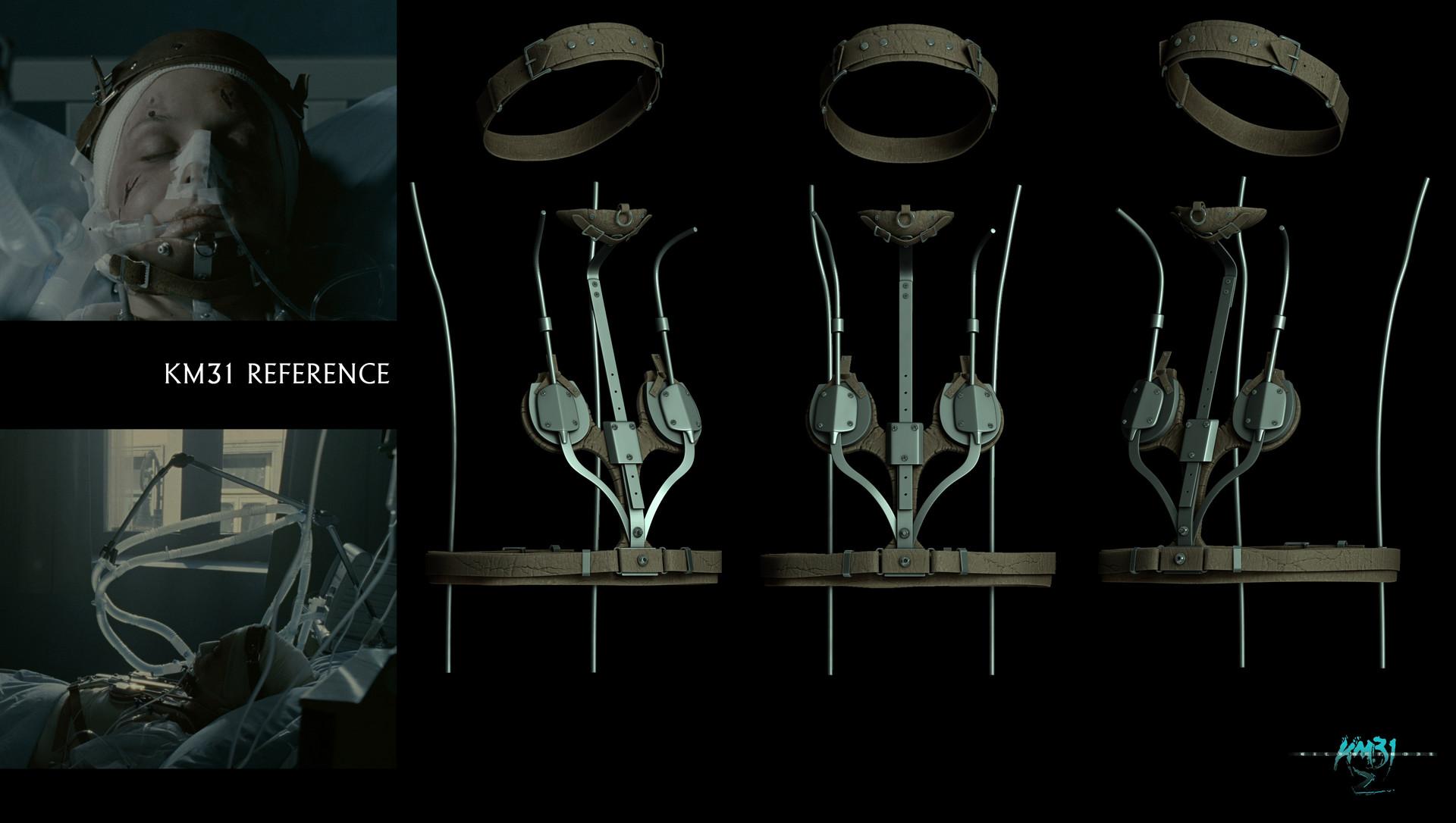 Raul eduardo sanchez osorio km312 agata 01 harness leather sculpt v01