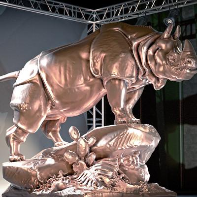 Asbjorn olsen rinio statue