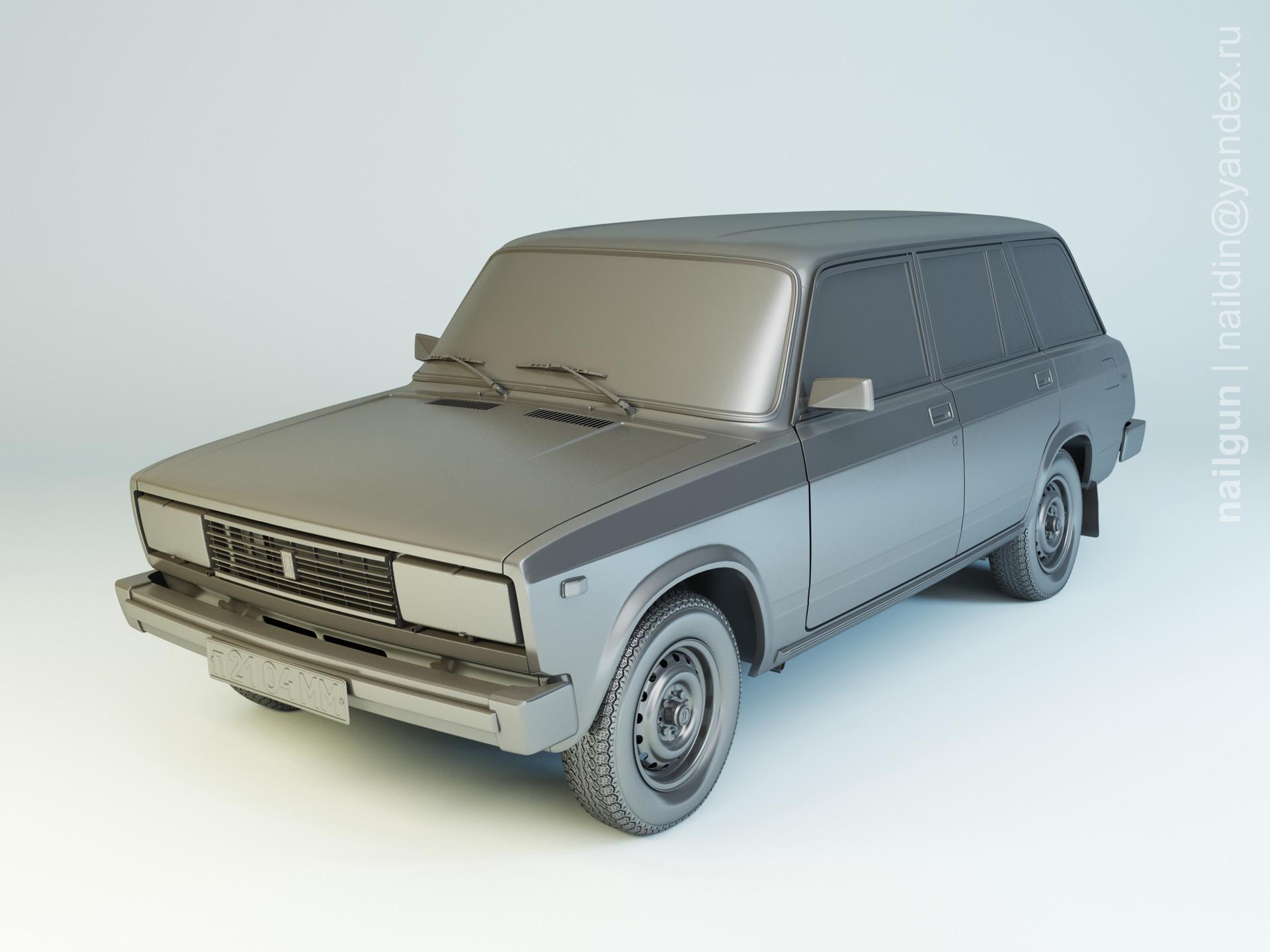 Nail khusnutdinov pwc 056 002 vaz 2104 modelling 0