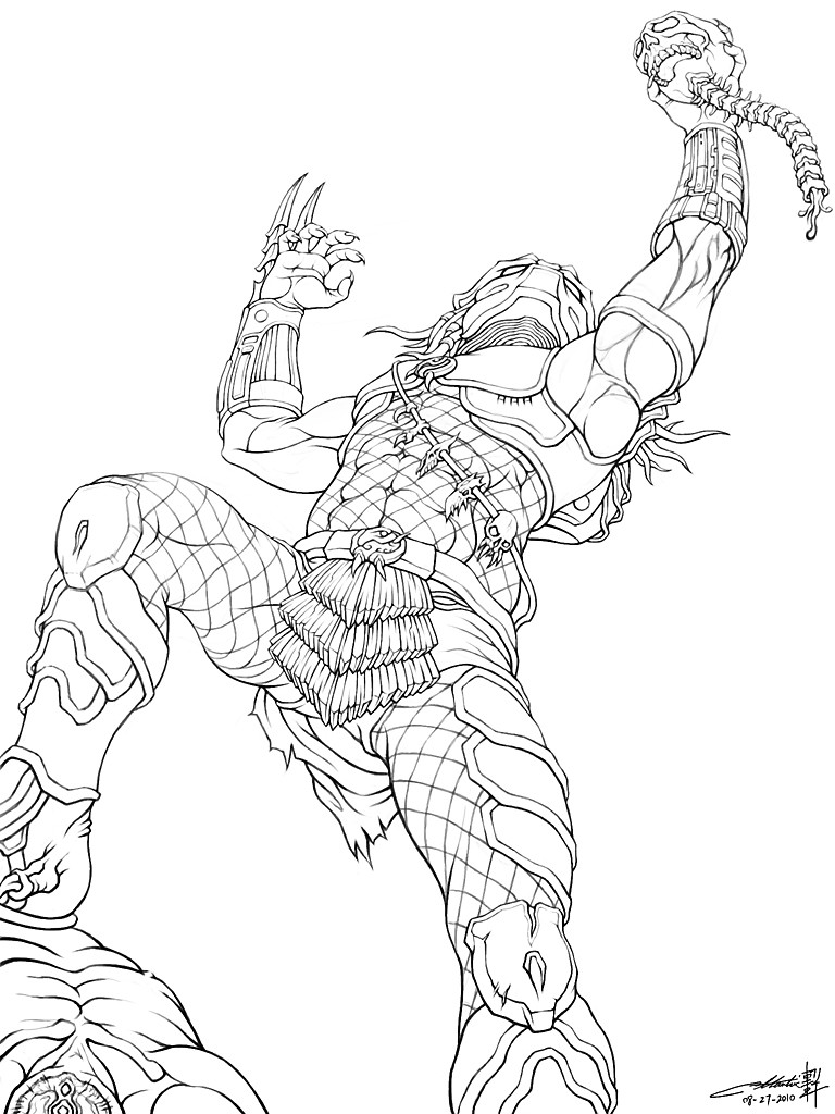 E lynx predator sketch