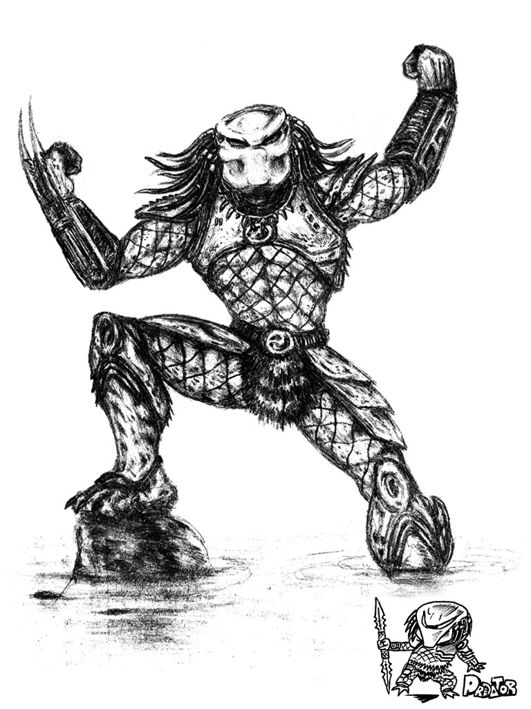 E lynx predator sketch00