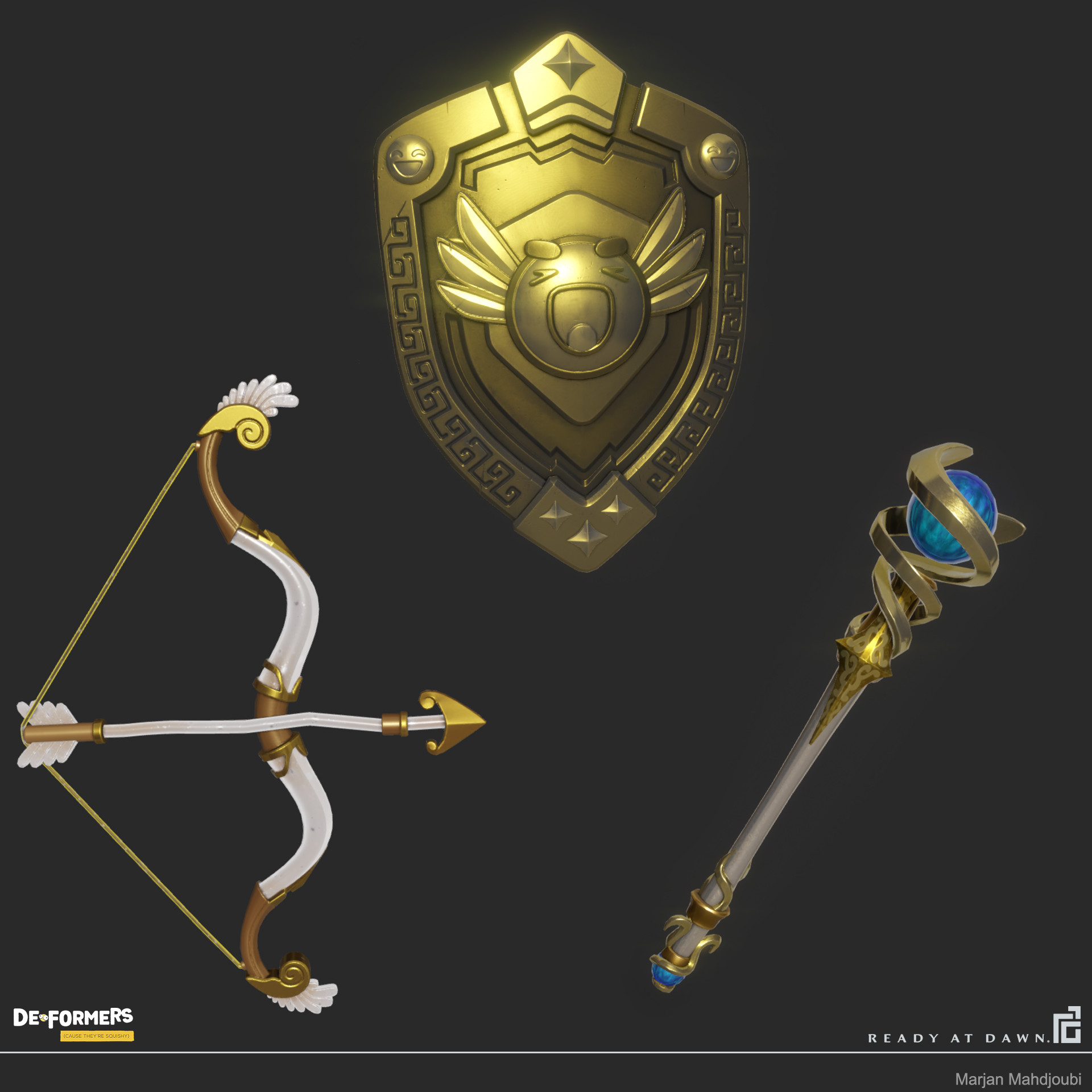 Weapons - Back accessories