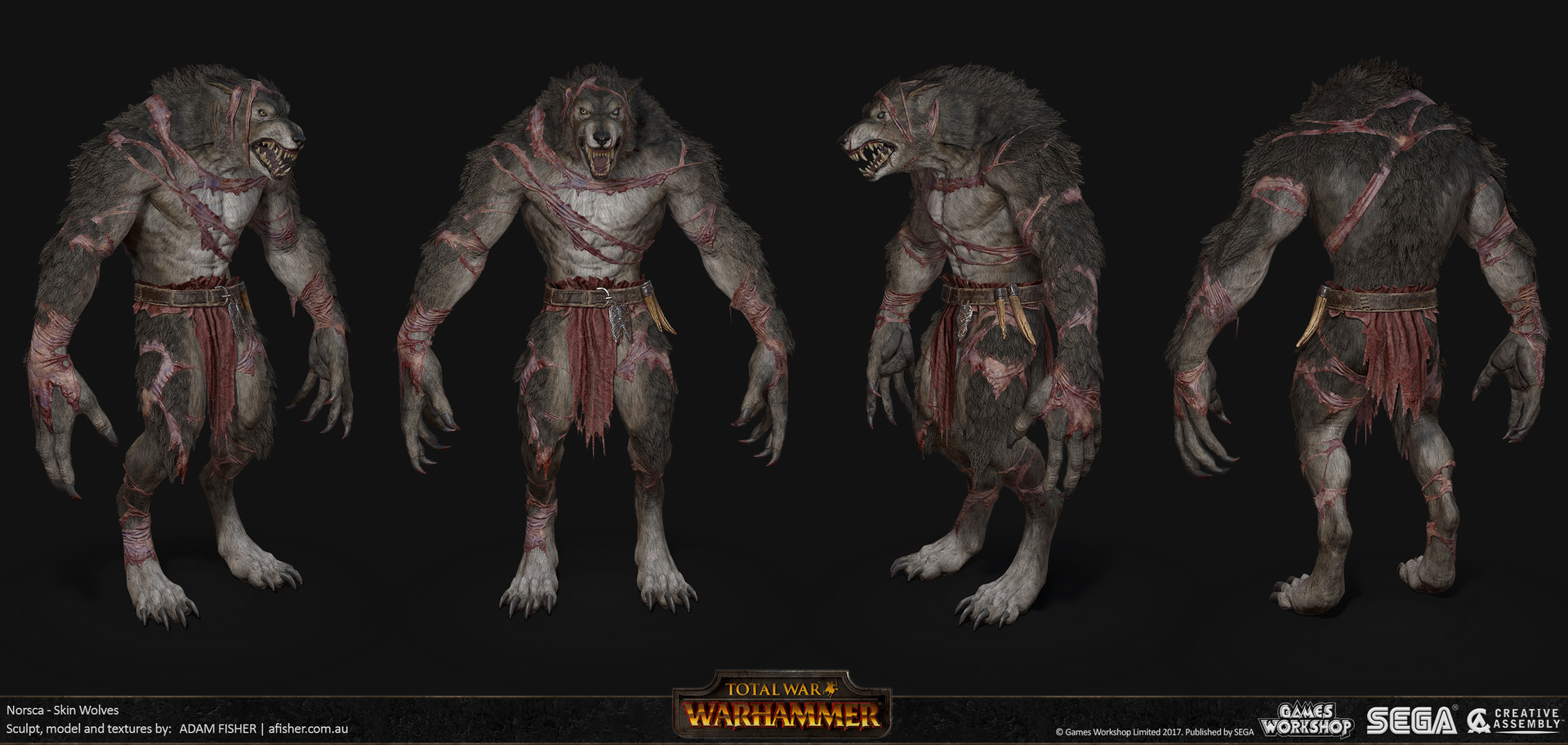 Adam fisher afisher norsca skin wolves01
