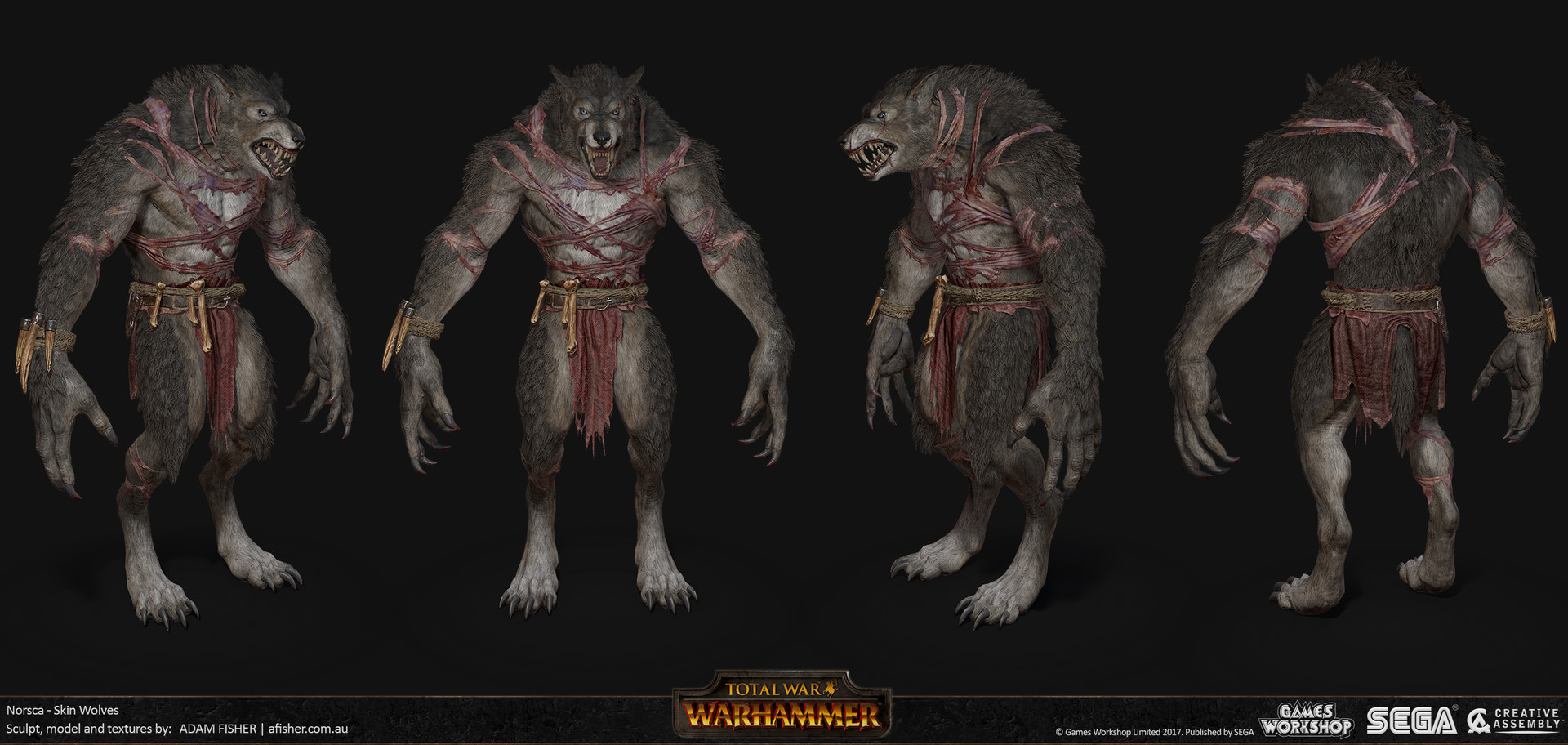 Adam fisher afisher norsca skin wolves03