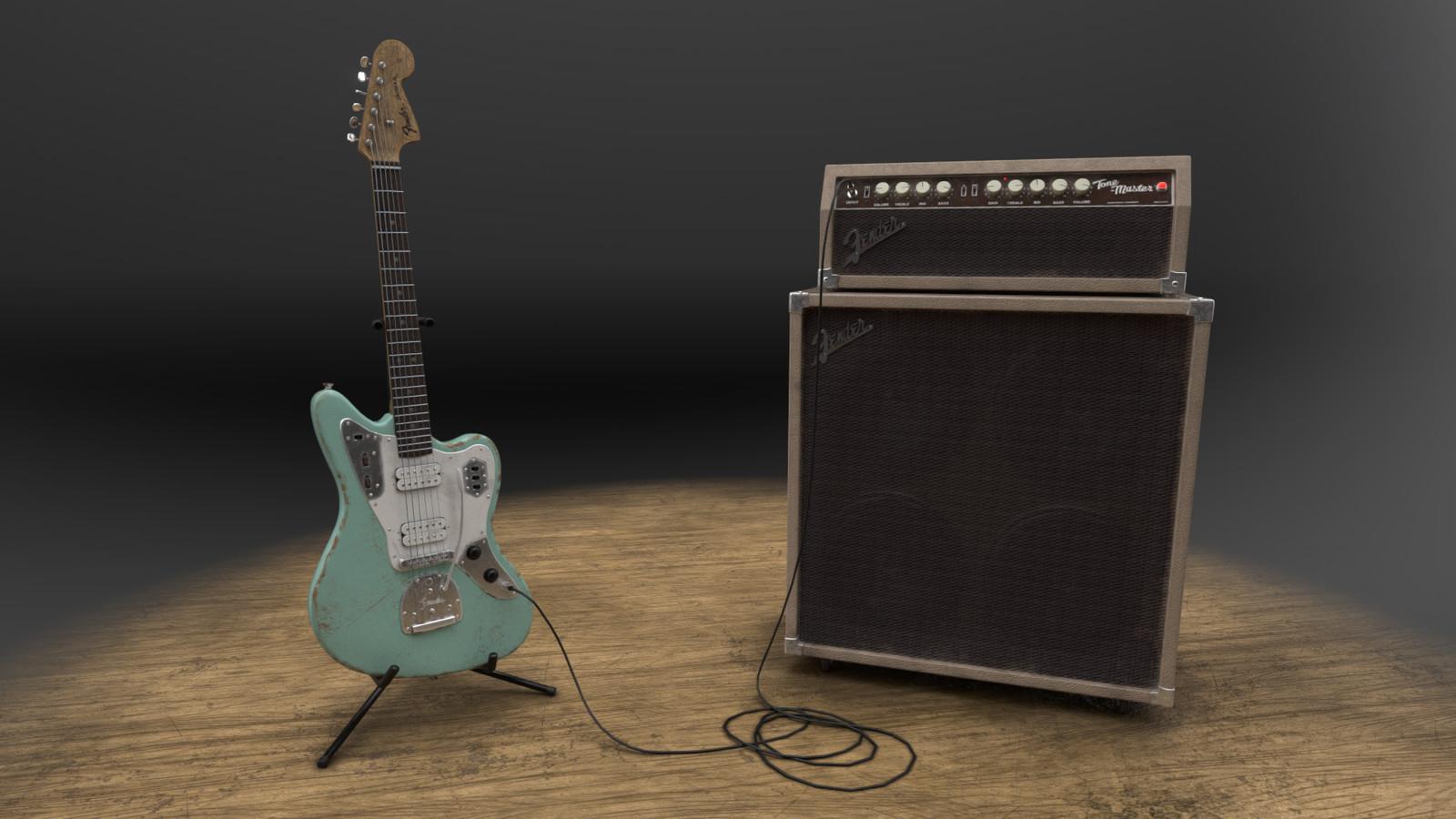 Vintage Fender Jaguar
