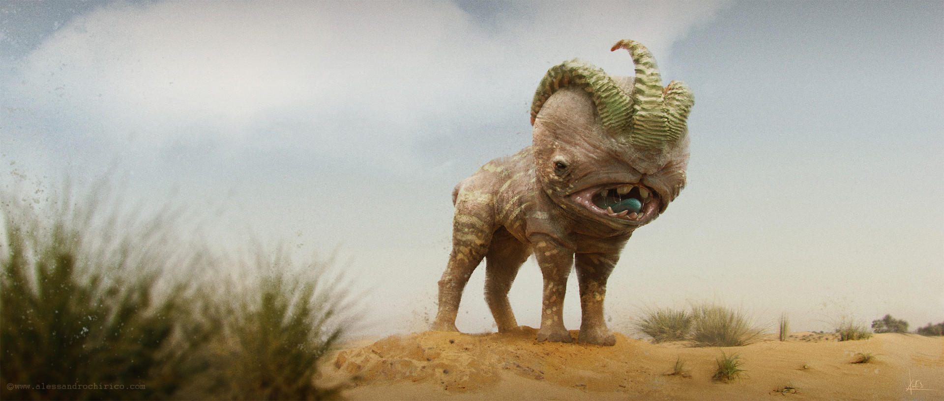 Alessandro chirico sand creature alessandro chirico