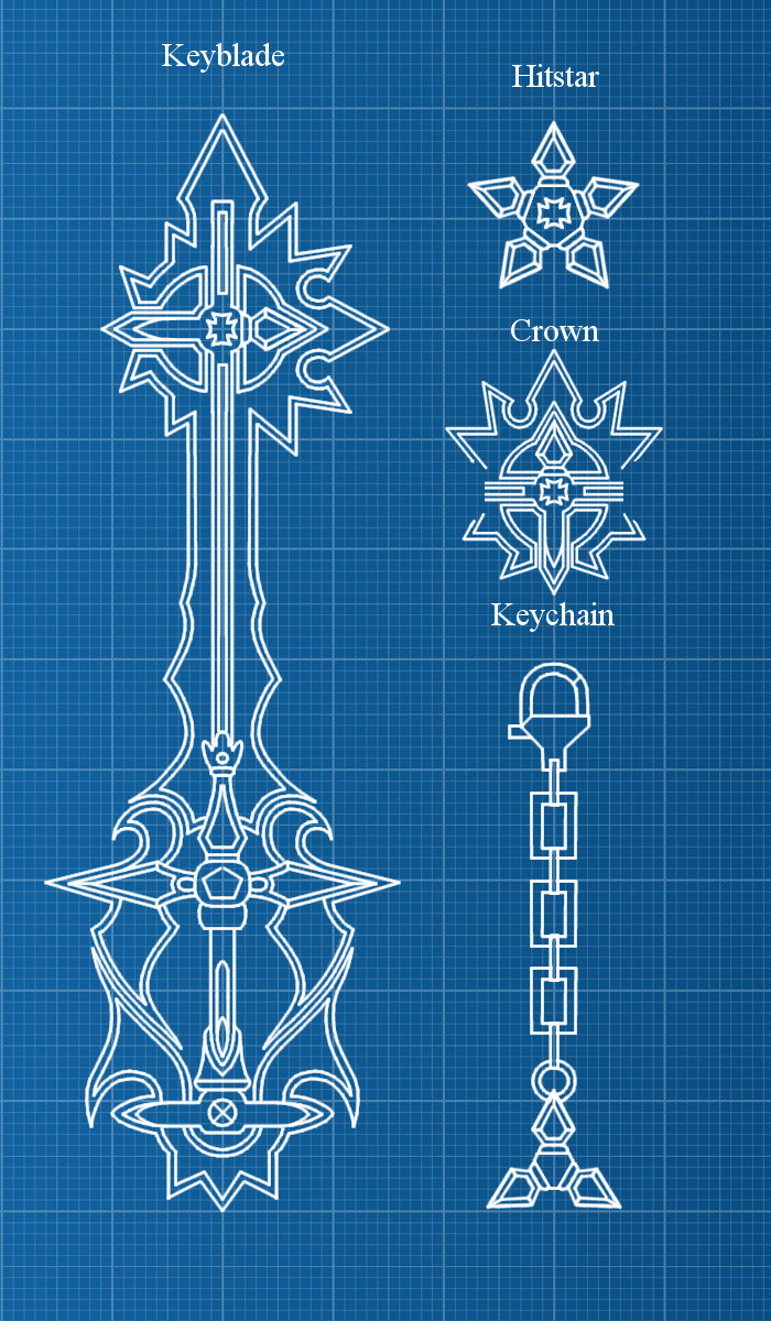 Artstation keyblade blueprints digital artefact dawid kuznik keyblade blueprints digital artefact malvernweather Images